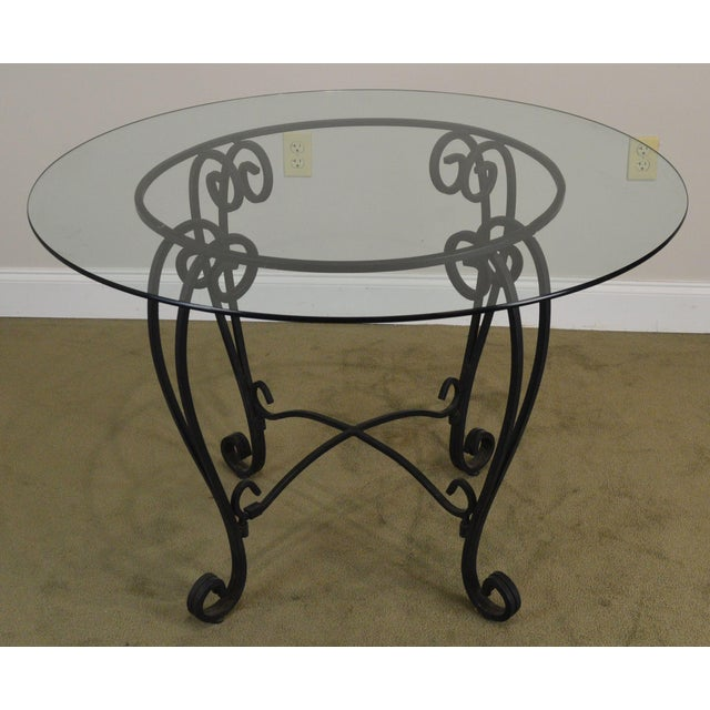 Tufted Chaise Lounge Chair, Wrought Iron 5 Piece 42 Round Glass Top Bistro Dining Set Chairish