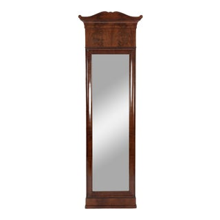 Early 19th Century Antique Mahogany Dressing Mirror For Sale