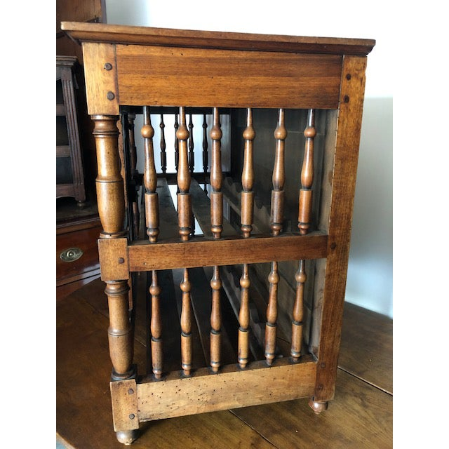 French Country French Country Panettierre Wine Rack For Sale - Image 3 of 5