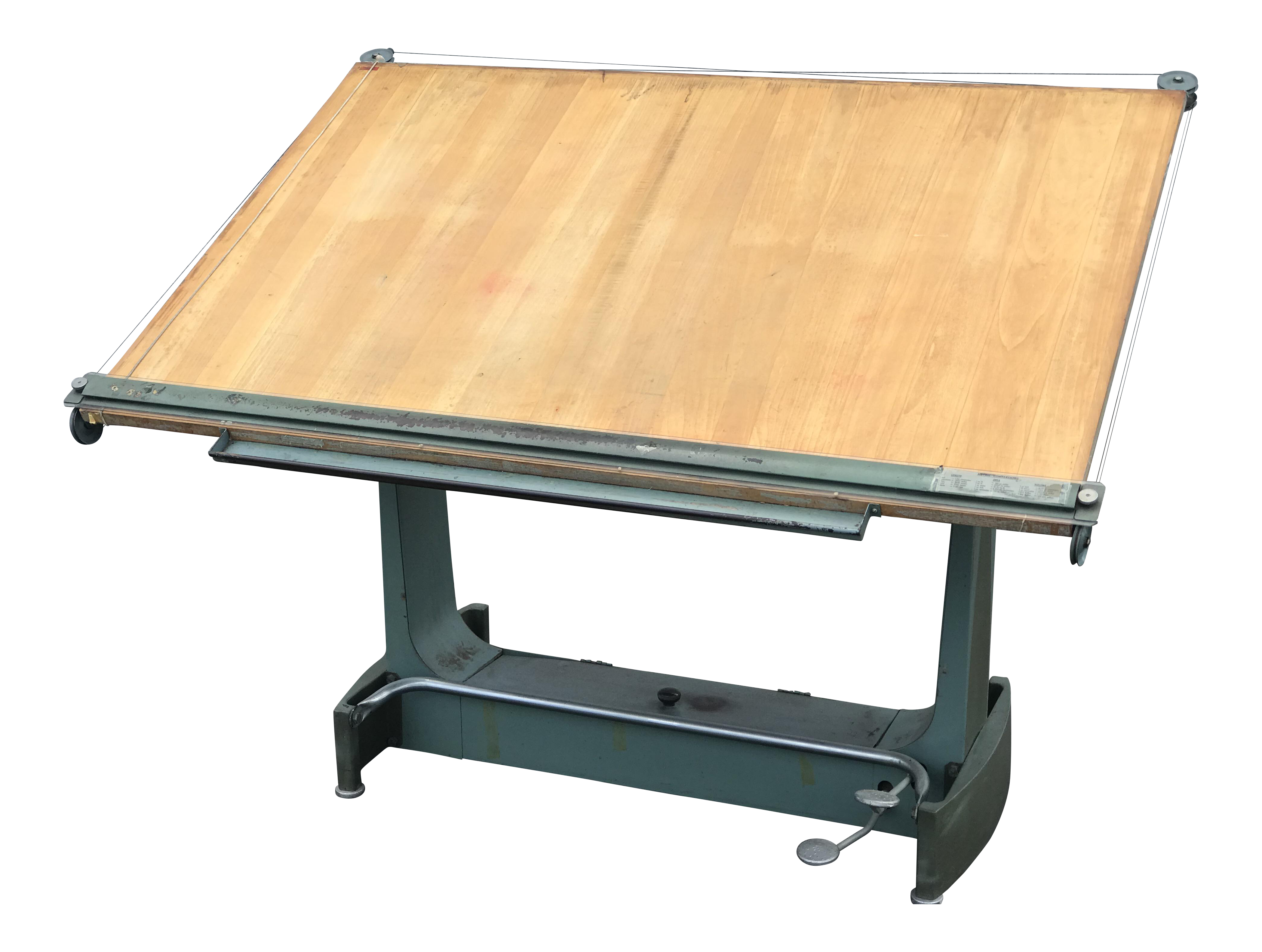 Unic French Drafting Table For Sale