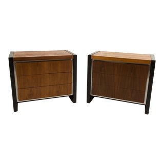 Milo Baughman for Dillingham Nightstands - A Pair For Sale