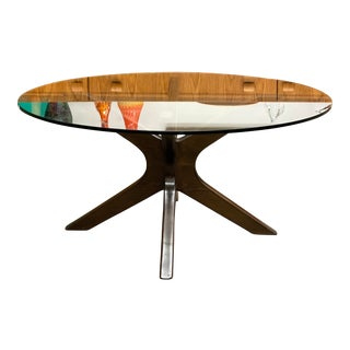 Adrian Pearsall Style Mid Century Modern Coffee Table For Sale