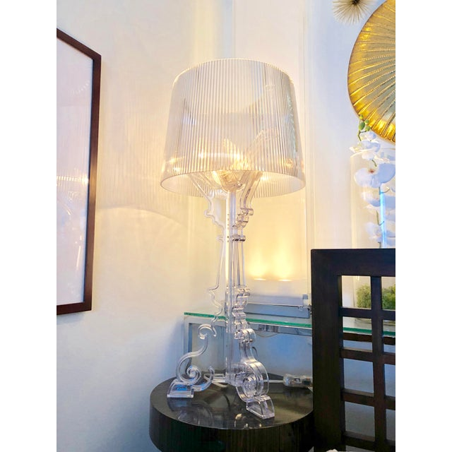 Ferruccio Laviani For Kartell Crystal Bourgie Table Lamp Chairish