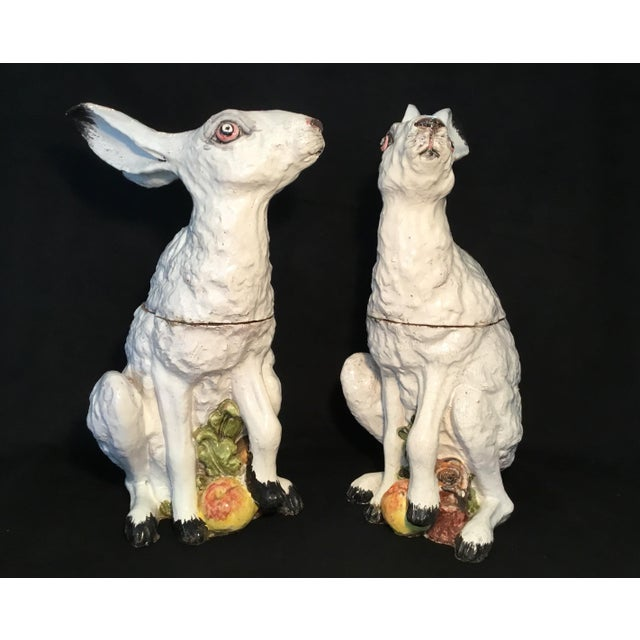 Italian Bunny Tureens - a Pair For Sale In Los Angeles - Image 6 of 13