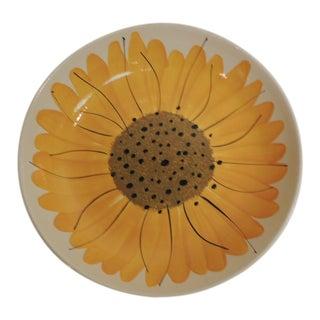 Round Vera Bradley Sunflower Serving Bowl