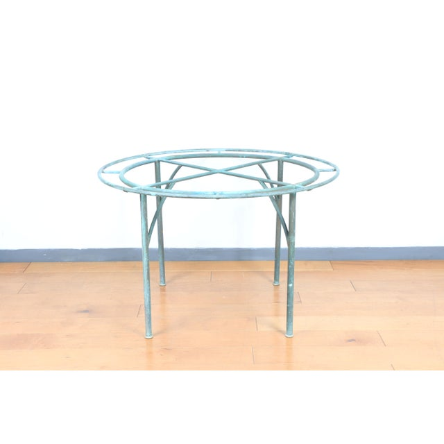 Walter Lamb For Brown Jordan Patio Table. In very good condition no major damages with excellent strong legs. Made in the...