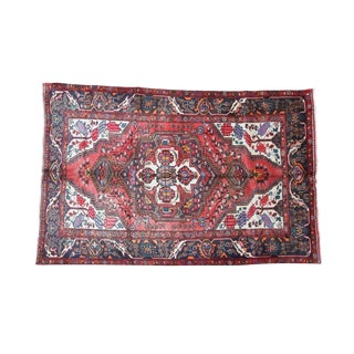 20th Century Persian Tabriz Wool Area Rug For Sale