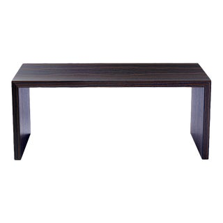 "Oi Studio Aura Dining Table 72"" Macassar Ebony"