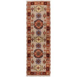 """Modern Kazak Rug, 2'1"""" X 6'7"""""""
