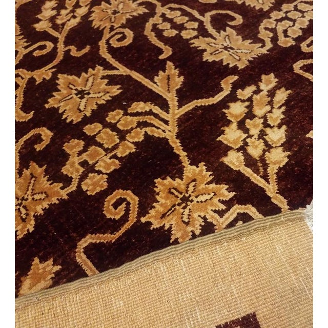 Kafkaz Peshawar Yolanda Red/Gold Wool Rug - 8'11 X 11'11 For Sale In New York - Image 6 of 7