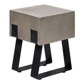 Weston Stool, Dark Grey For Sale