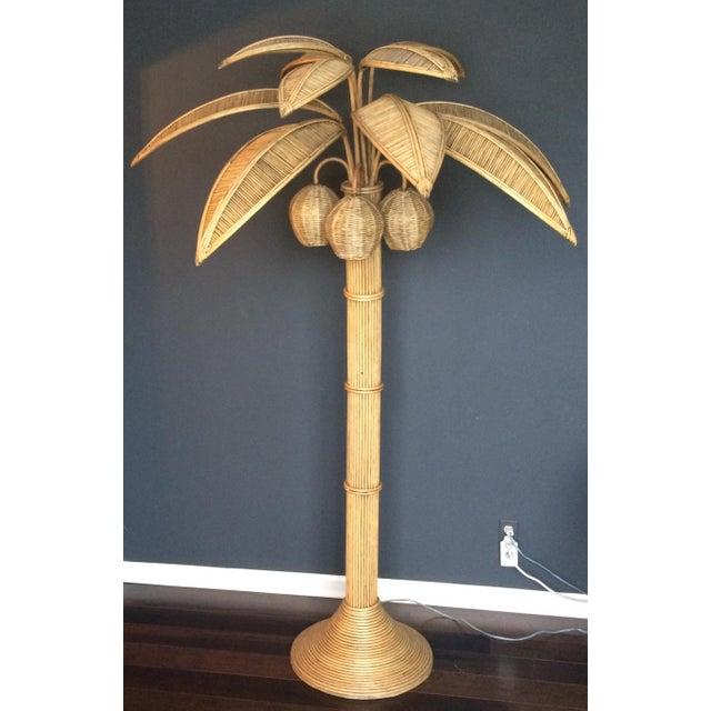 Mario lopez torres rattan palm tree floor lamp chairish mario lopez torres rattan palm tree floor lamp image 9 of 9 aloadofball Choice Image
