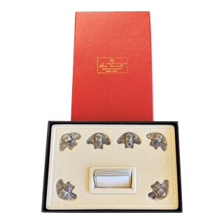 Contemporary Hans Turnwald Bumble Bee Placecard Holders For Sale