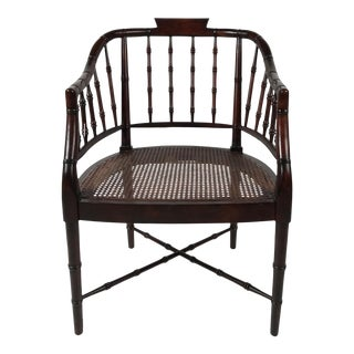 Century Chippendale Armchair For Sale