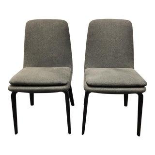 Rodolfo Dordoni for Minotti York Side/Dining Chairs - a Pair