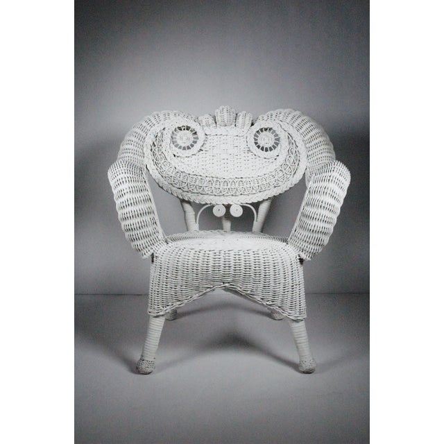Vintage Child's Wicker Chair - Image 2 of 4
