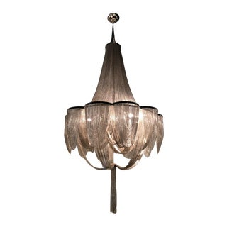 Maxim Lighting - Chantilly - Chantilly 10-Light Chandelier in Polished Nickel For Sale