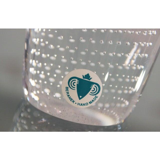 Pavel Juda Czech Art Glass Vase - Image 9 of 10