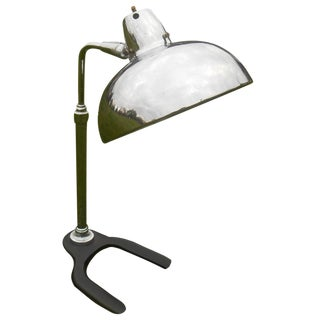 Mid-Century Modern Industrial Table Lamp