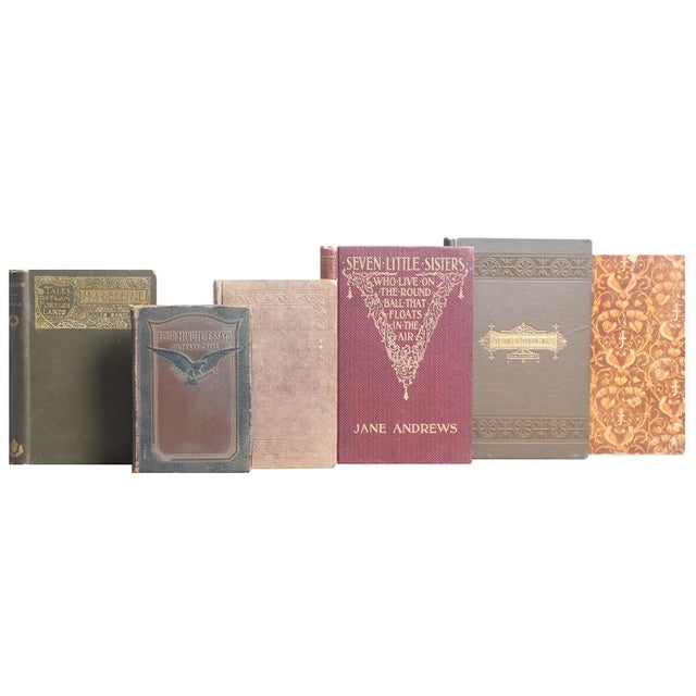Vintage Tan & Brown Mini Books - Set of 30 - Image 2 of 3
