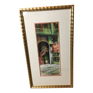 """New Orleans"" Watercolor Painting by Robert M. Rucker (1932-2001) For Sale"