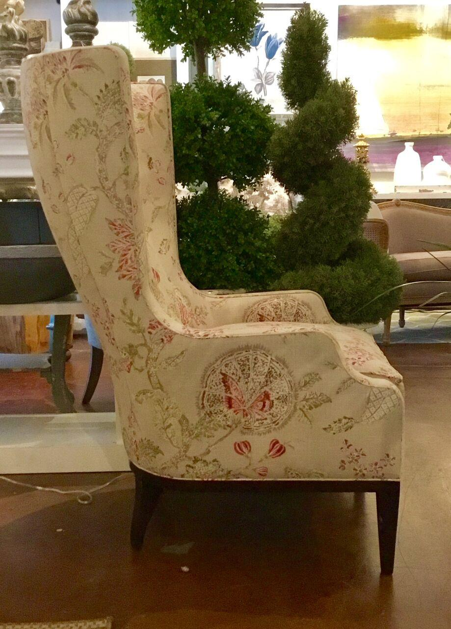 Traditional Hickory Chair Elliot Wing Chair For Sale   Image 3 Of 6