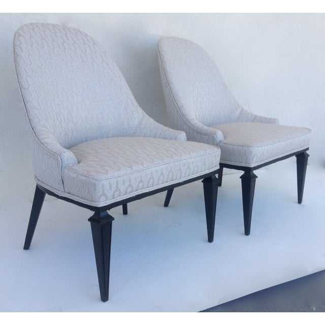 Lounge Chairs by Michael Taylor for Baker - A Pair For Sale - Image 11 of 11