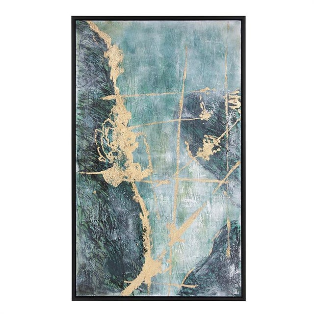 Kenneth Ludwig Chicago Ocean Wave Number 2 Painting For Sale In Chicago - Image 6 of 6