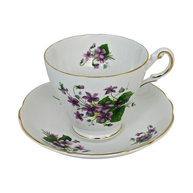Bone China Cup & Saucer - A Pair - Image 2 of 7