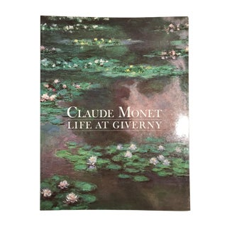 "1985 ""Claude Monet Life at Giverny"" First Edition Museum Book For Sale"