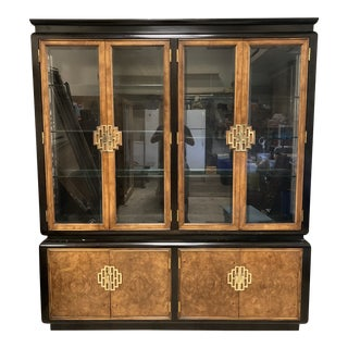 Asian Style China Cabinet For Sale