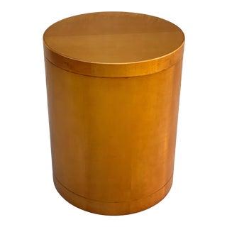 1998 Bernhardt Drum Table For Sale