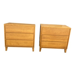 Conant Ball Russell Wright Nightstands - a Pair For Sale