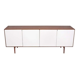 1950s Florence Knoll Walnut Credenza