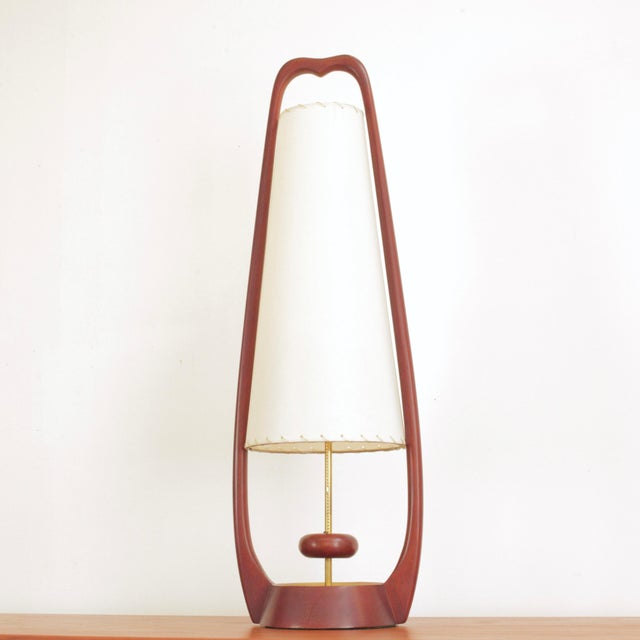 Metal 1960s Sculptural Lamps by John Keal for Modeline - a Pair For Sale - Image 7 of 13