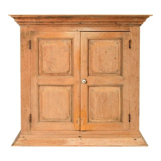 19th C Hanging Cupboard From Belgium For Sale