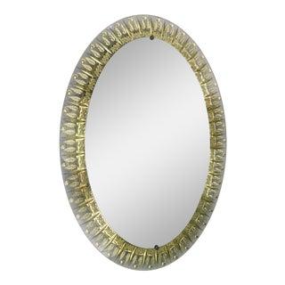 Cristal Art Oval Mirror Final Clearance Sale For Sale