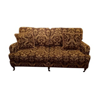 Ikat Pattern Couch by Lee Industries