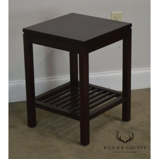 Stickley Metropolitan Collection Cherry Square Side Table Preview