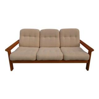 Danish Modern Teak Sofa For Sale