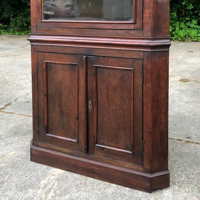 19th Century French Louis Philippe Corner Cabinet For Sale - Image 10 of 13