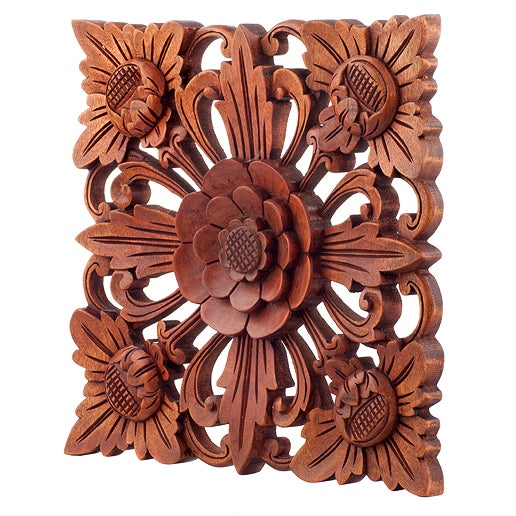 Enhance your room with a little flower power by bringing the lush flowers of Bali to you. Comes in 3 colors & 3 sizes --...