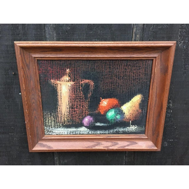 Italian Still Life Original Oil Painting For Sale - Image 9 of 10