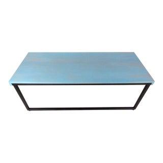 Knoll Mid-Century Modern Sled Leg Coffee Table For Sale