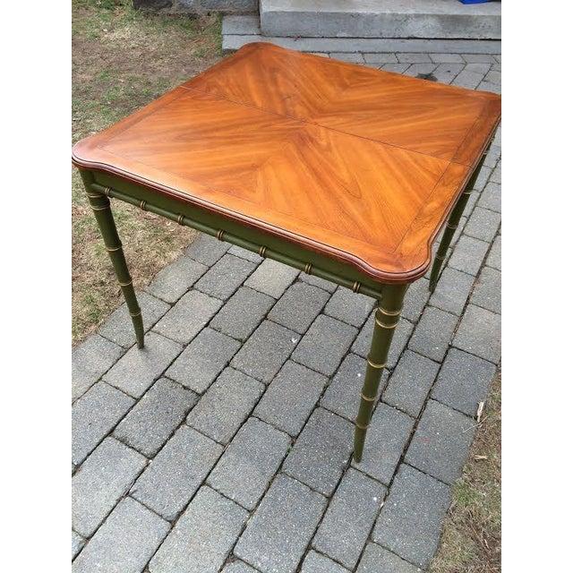 Vintage Regency Style Kindel Dining Table - Image 2 of 5