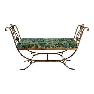 Italian 1940s Scalamandre Settee For Sale