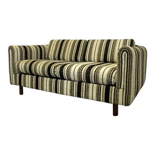 Mid-Century Danish Modern Selig of Monroe Loveseat Sofa For Sale