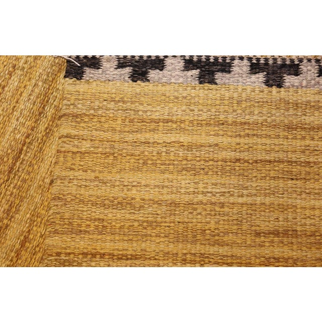 Mid 20th Century Vintage Swedish Rug by Rakel Callander - 6′6″ × 10′ For Sale - Image 5 of 8