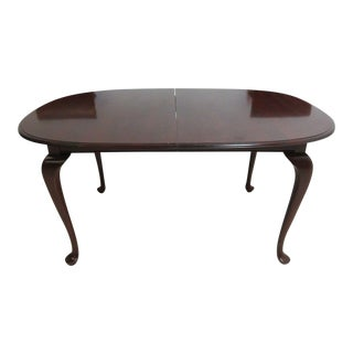 Ethan Allen Cherrywood Georgian Court Conference Table For Sale
