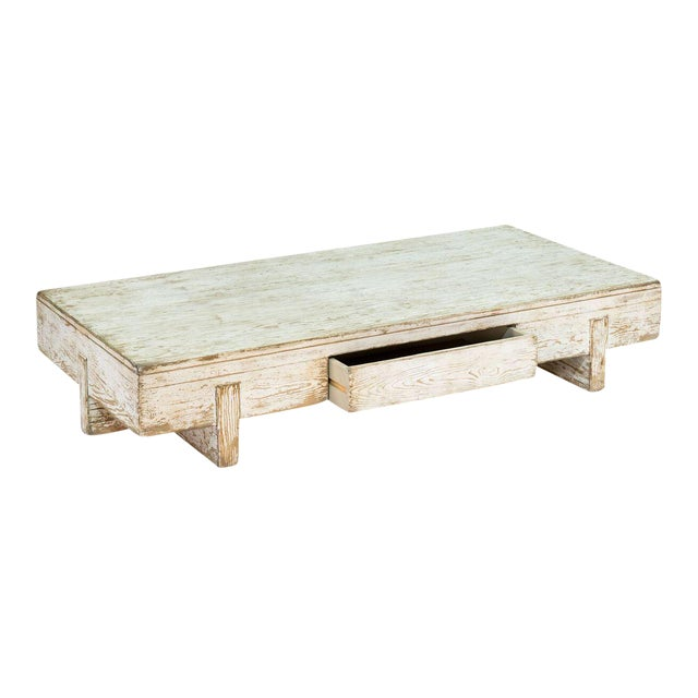 Sarreid Ltd Perth White Coffee Table - Image 5 of 8